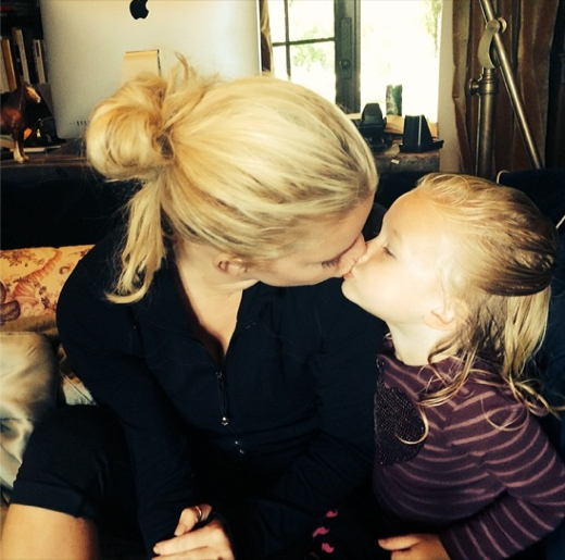 Jessica Simpson Shares a Sweet Shot With her Little Angel