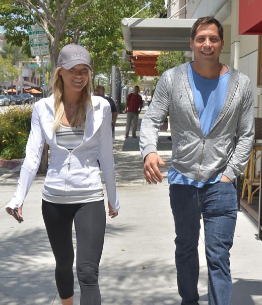 Joe Francis Takes His Girlfriend Out For Sushi