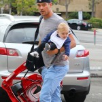 Josh Duhamel Spends the Day Bonding With Axl
