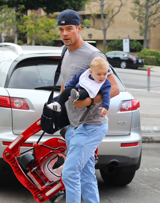 Josh Duhamel Spends The Day Bonding With Axl Celeb Baby