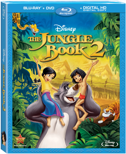 Review: Disney's The Jungle Book 2 (Blu-Ray + DVD + Digital HD)