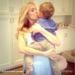 Kristin Cavallari Kisses Son While Working From Home