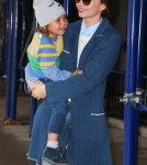 Miranda Kerr Out With Her Son Flynn In New York City
