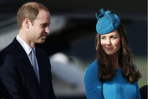 Prince William & Kate Middleton in New Zealand