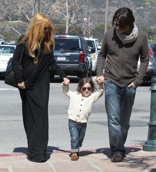 Rachel Zoe & Rodger Berman Enjoy A Day In Malibu With Their Son Skyler