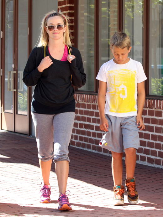 Reese Witherspoon: Sunday Bonding With Deacon