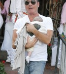 Simon Cowell Takes Son Eric To Lunch At The Ivy