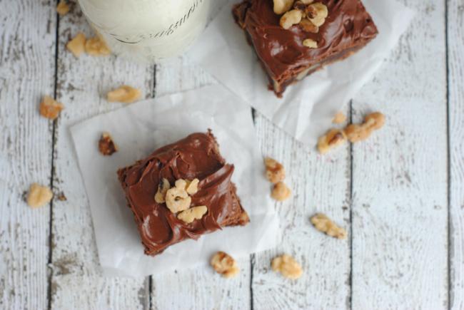 Grandma's Walnut Brownies