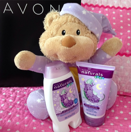 Avon Naturals Kids Good Night Lavender Collection