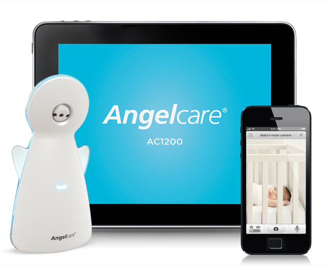 Meet The Angelcare AC1200 Video, Movement & Sound Monitor For Smartphones #Review