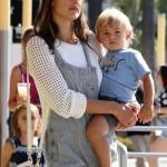 Alessandra Ambrosio: Family Shopping Day