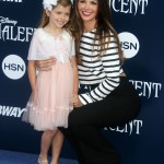 Ali Landry Walks the Maleficent Red Carpet With Daughter Estella