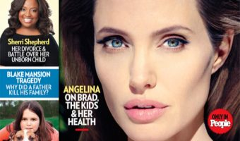 Angelina Jolie Covers People Magazine