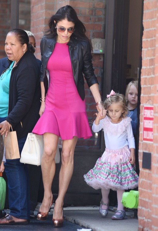 Bethenny Frankel Picks Up Bryn After Booking Signing