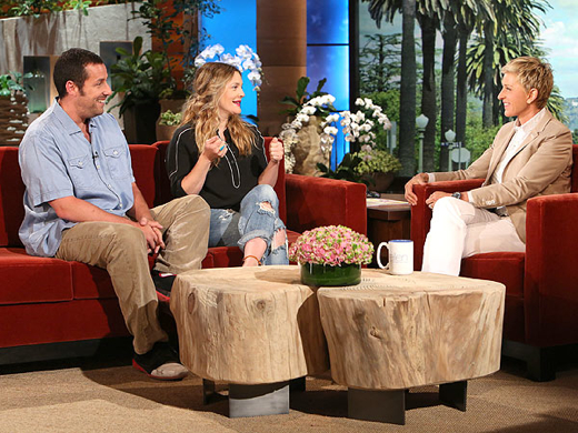 Drew Barrymore on Ellen