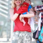 Gwen Stefani Dotes on her Baby Superman While Cheering on Zuma