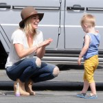 Hilary Duff: Sunny Day With Luca