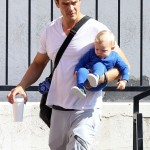 Josh Duhamel Spends Saturday With His Baby