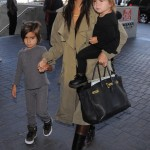 Kourtney Kardashian Heads To France With Mason & Penelope
