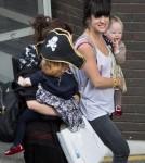 Lily Allen Drops By ITV Studios