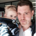 Michael Bublé Shares Selfie With His 'Chick Magnet'