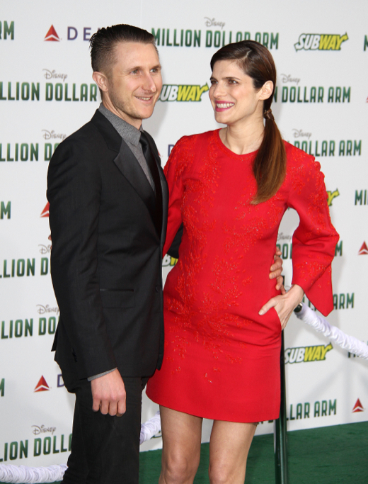 Lake Bell Takes Her Baby Bump to the Million Dollar Arm Premiere