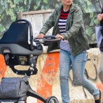 Olivia Wilde Strolls With Otis in the Big Apple