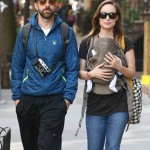 Olivia Wilde & Jason Sudeikis Take Newborn Son on First Stroll