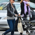 Olivia Wilde Spends a Day Out With Her Mom & Son