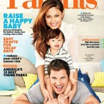 Nick & Vanessa Lachey Cover Parents Magazine With Son Camden