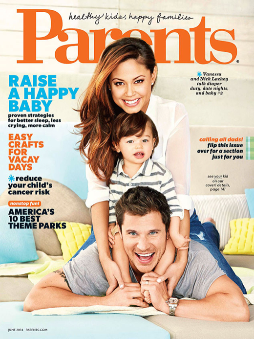 Photo of Nick Lachey & his  Son  Camden John Lachey