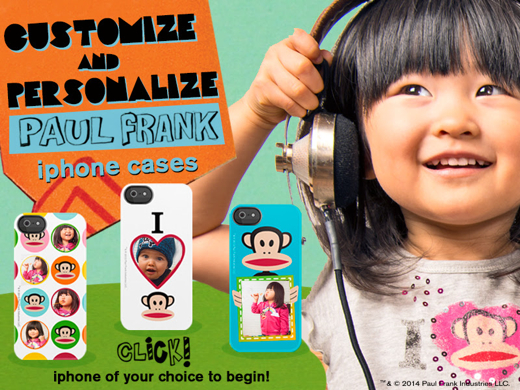 Spotlight: Paul Frank Clothing For Kids & Customizable iPhone Cases