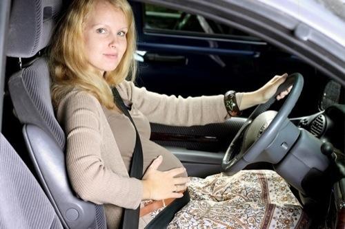 Car Crash Risk Increases During Pregnancy