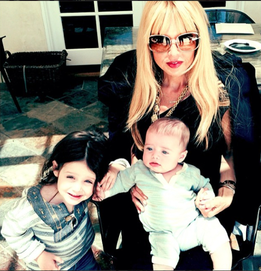 Rachel Zoe: Fashionable Mother's Day With Her Boys