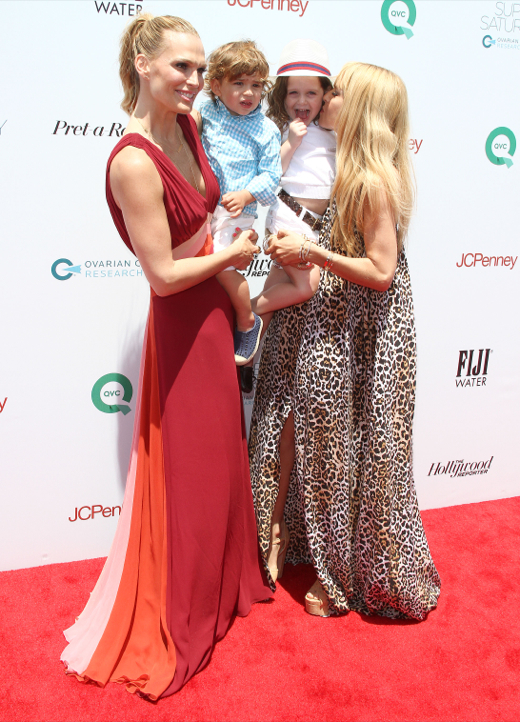 Rachel Zoe & Molly Sims Pose on the Red Carpet With Their Sons
