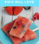 Watermelon Popsicles Kids Will Love