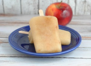 Applesauce Popsicles