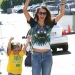 Alessandra Ambrosio & Anja: Brazil Cheerleaders