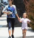 Alessandra Ambrosio & Daughter Anja Out And About In Brentwood
