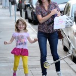 Alyson Hannigan Spends Saturday With Satyana