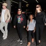 Brad Pitt & Angelina Jolie Jet Off With Maddox & Zahara