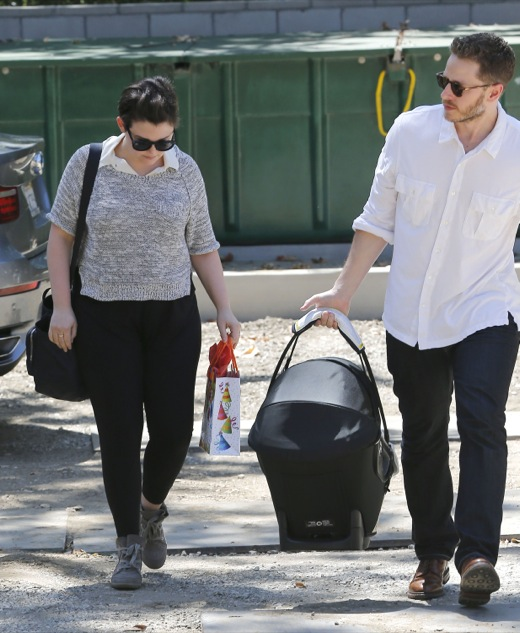Ginnifer Goodwin & Josh Dallas Attend Party With Oliver