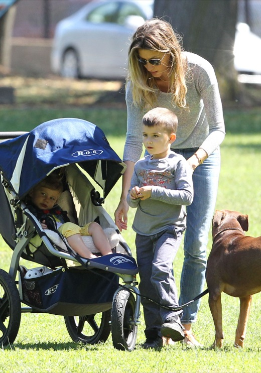 Tom Brady & Family Spend Father's Day At The Park | Celeb ...