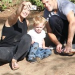 Hilary Duff Spends Loving Day With Mike Comrie & Luca