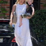 Hilary Duff Takes her Toddler to a Baby Class