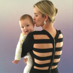 Ivanka Trump: Glamorous Mommy & Baby