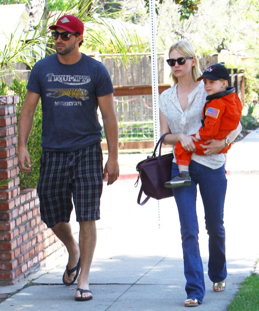 January Jones Lunches With Xander