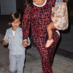 Kourtney Kardashian Touches Down in New York City