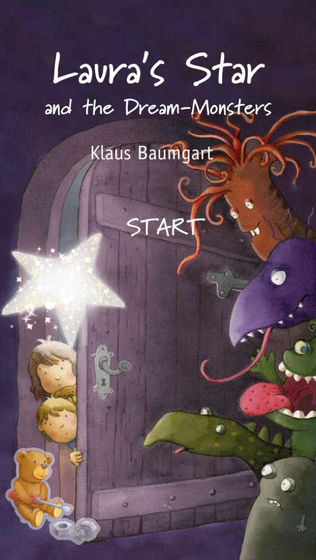 Laura's Star and the Dream-Monster: Imaginative and Interactive Storytelling