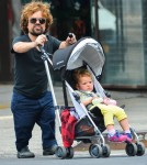 Peter Dinklage And Daughter Out For A Stroll In NYC